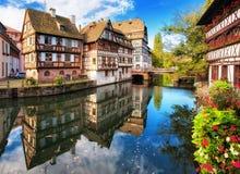 Γαλλία Στρασβούργο Στοκ φωτογραφία με δικαίωμα ελεύθερης χρήσης