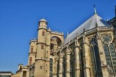 Γαλλία, το γραφικό κάστρο Αγίου Ζερμαίν EN Laye  Στοκ Φωτογραφίες