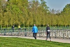 Γαλλία, το γραφικό πάρκο κάστρων Αγίου Ζερμαίν EN Laye Στοκ Εικόνα