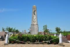 Γαλλία, το γραφικό χωριό μας Στοκ φωτογραφία με δικαίωμα ελεύθερης χρήσης