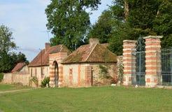 Γαλλία, το γραφικό χωριό Ecouis Στοκ Εικόνα