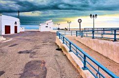 Γαλλία Camargue Άγιος marie de Λα mer Στοκ Φωτογραφίες