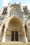 Γαλλία, Eure-et-Loir, καθεδρικός ναός της Notre Dame de Chartres Στοκ Εικόνες