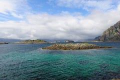Γαλαζοπράσινα ύδατα Στοκ Φωτογραφίες