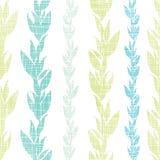 Γαλαζοπράσινο άνευ ραφής σχέδιο αμπέλων φυκιών ελεύθερη απεικόνιση δικαιώματος