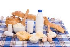 Γαλακτοκομικά προϊόντα στην κατάταξη Στοκ φωτογραφίες με δικαίωμα ελεύθερης χρήσης