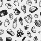 Γαλακτοκομικά προϊόντα, σχέδιο διανυσματική απεικόνιση