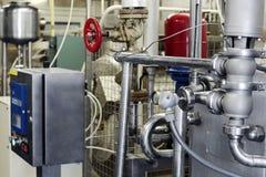 Γαλακτοκομική food-processing βιομηχανία στοκ φωτογραφία με δικαίωμα ελεύθερης χρήσης