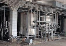 Γαλακτοκομική food-processing βιομηχανία στοκ εικόνες