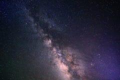 Γαλακτώδες υπόβαθρο τρόπων γαλαξιών Στοκ Εικόνες