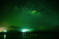 Γαλακτώδης γαλαξίας τρόπων Στοκ φωτογραφία με δικαίωμα ελεύθερης χρήσης