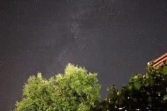 Γαλακτώδης ουρά τρόπων Στοκ φωτογραφίες με δικαίωμα ελεύθερης χρήσης