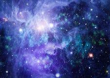 Γαλαξίας στο διάστημα, ομορφιά του κόσμου, μαύρη τρύπα Στοιχεία που εφοδιάζονται από τη NASA Στοκ Φωτογραφίες
