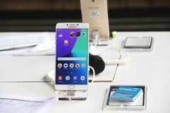 Γαλαξίας της Samsung C9 υπέρ Στοκ Εικόνες