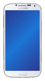 Λευκό γαλαξιών της Samsung S4 Στοκ Φωτογραφία