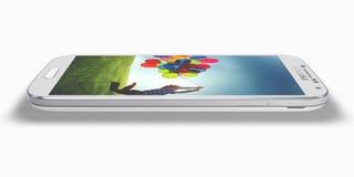 Γαλαξίας της Samsung S4 Στοκ εικόνα με δικαίωμα ελεύθερης χρήσης