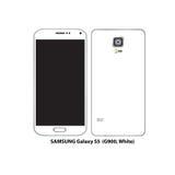 Γαλαξίας της Samsung S5 Στοκ φωτογραφίες με δικαίωμα ελεύθερης χρήσης