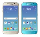 Γαλαξίας της Samsung s6 διανυσματική απεικόνιση