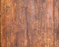 γαλβανισμένο φύλλο σιδήρ& Στοκ Φωτογραφίες