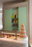 γαλλικά γλυκά Macarons Στοκ φωτογραφία με δικαίωμα ελεύθερης χρήσης