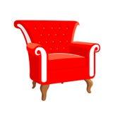 Γαλλικά μπαρόκ έπιπλα Στυλ ροκοκό πολυθρόνα Στοκ Εικόνα