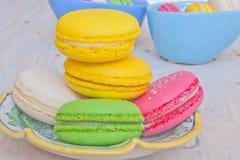Γαλλικά μπισκότα Στοκ Φωτογραφίες