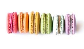 Γαλλικά μπισκότα Macaron στοκ εικόνες με δικαίωμα ελεύθερης χρήσης