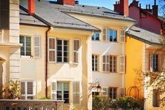 γαλλικά σπίτια Στοκ φωτογραφίες με δικαίωμα ελεύθερης χρήσης