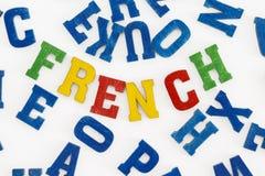 γαλλικά στοκ εικόνα με δικαίωμα ελεύθερης χρήσης