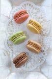 Γαλλικά macaroons Στοκ Εικόνα