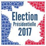 Γαλλικές προεδρικές εκλογές 2017 Στοκ Φωτογραφία