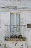 Γαλλικές πόρτες στην παλαιά πόλη Στοκ Εικόνες