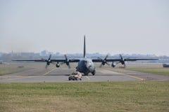 Γαλλική άποψη αεροπλάνων Πολεμικής Αεροπορίας Στοκ εικόνα με δικαίωμα ελεύθερης χρήσης