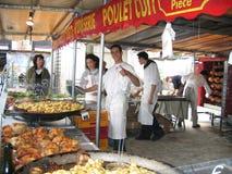 Γαλλική αγορά αγροτών στοκ εικόνα με δικαίωμα ελεύθερης χρήσης