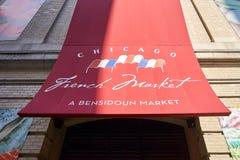 Γαλλική αγορά του Σικάγου Στοκ Εικόνα