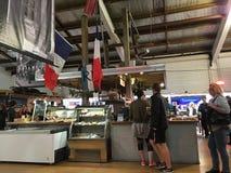 Γαλλική αγορά Ώκλαντ Λα Cigala Στοκ εικόνα με δικαίωμα ελεύθερης χρήσης