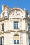 Γαλλική αρχιτεκτονική στο Παρίσι Στοκ Φωτογραφία