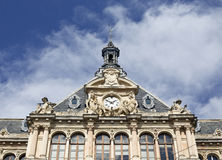 Γαλλική αρχιτεκτονική Στοκ εικόνα με δικαίωμα ελεύθερης χρήσης