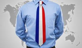 Γαλλική γραβάτα Στοκ Εικόνα