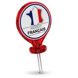 Γαλλική ετικέτα προϊόντων Στοκ φωτογραφία με δικαίωμα ελεύθερης χρήσης
