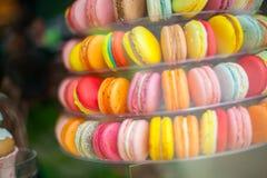 Γαλλική ζύμη των διαφορετικών χρωμάτων Στοκ Φωτογραφία