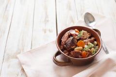 Γαλλική κουζίνα - cassoulet Στοκ Φωτογραφία