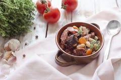 Γαλλική κουζίνα - cassoulet Στοκ φωτογραφία με δικαίωμα ελεύθερης χρήσης