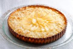 Γαλλική πίτα κουζίνας με τα βερίκοκα Στοκ Εικόνες