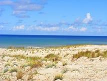 Γαλλική παραλία Ατλαντικός Στοκ Φωτογραφίες