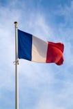 Γαλλική σημαία Στοκ εικόνα με δικαίωμα ελεύθερης χρήσης