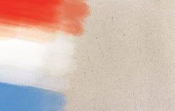 Γαλλική σημαία Στοκ εικόνες με δικαίωμα ελεύθερης χρήσης