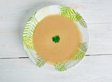 Γαλλική σούπα σκόρδου Στοκ φωτογραφία με δικαίωμα ελεύθερης χρήσης