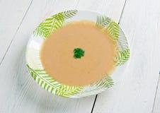 Γαλλική σούπα σκόρδου Στοκ Φωτογραφίες
