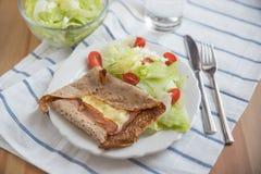 Γαλλική τηγανίτα Buckweat Στοκ Φωτογραφία
